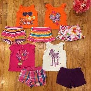 Children's Place Huge Baby Girl Summer Bundle